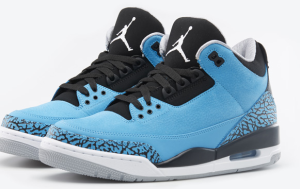 Jordan Retro 3 Powder Blue January 18 release date